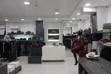 Interno della Boutique Franca