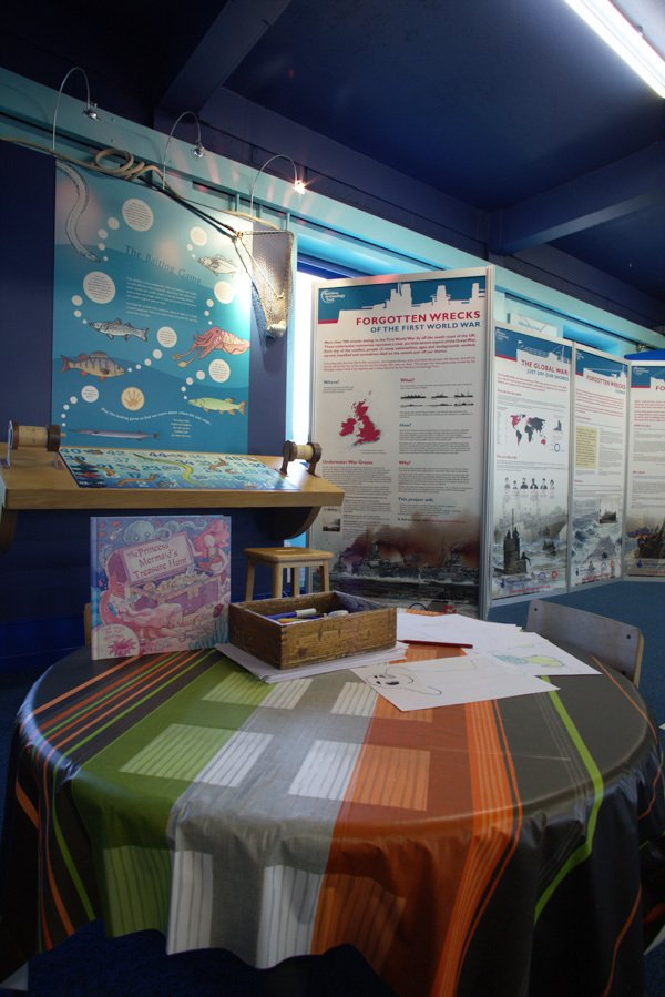 An exhibition at our Look & Sea centre in Littlehampton