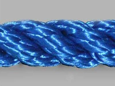 blue polyester rope