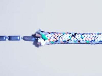 leaded polypropylene multifilament braid
