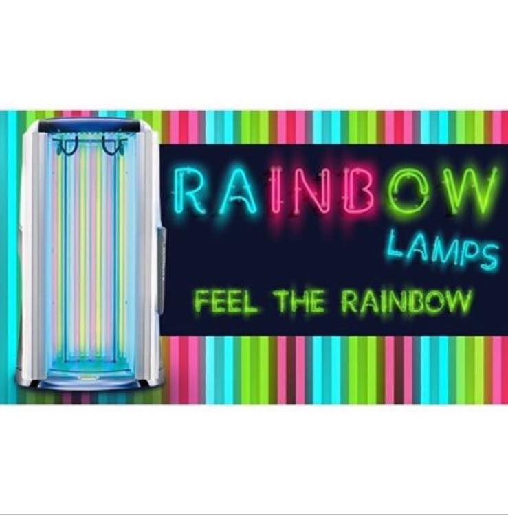 Rainbow lamps