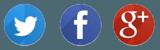 Twitter - Facebook - Google+