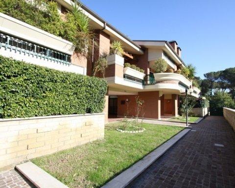 Giardino condominiale Roma Nord