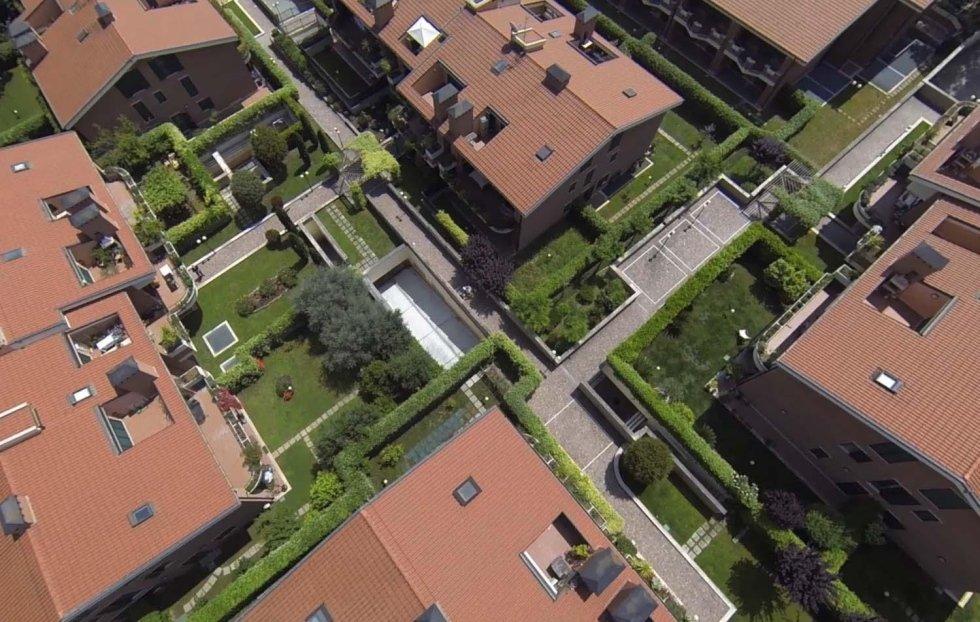 complesso residenziale pini di roma