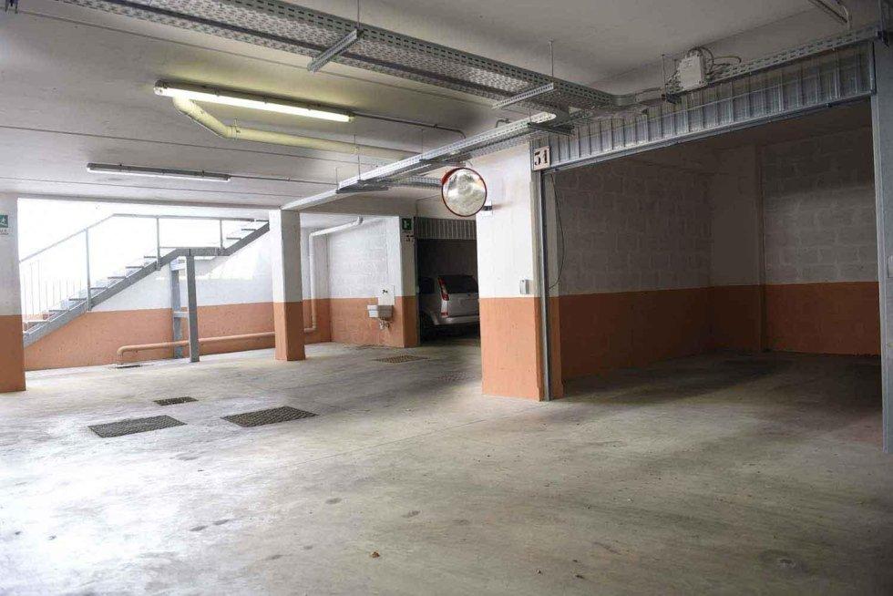 box auto complesso residenziale Roma nord Pini di Roma