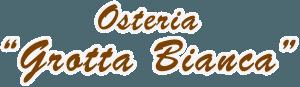 logo osteria grotta bianca