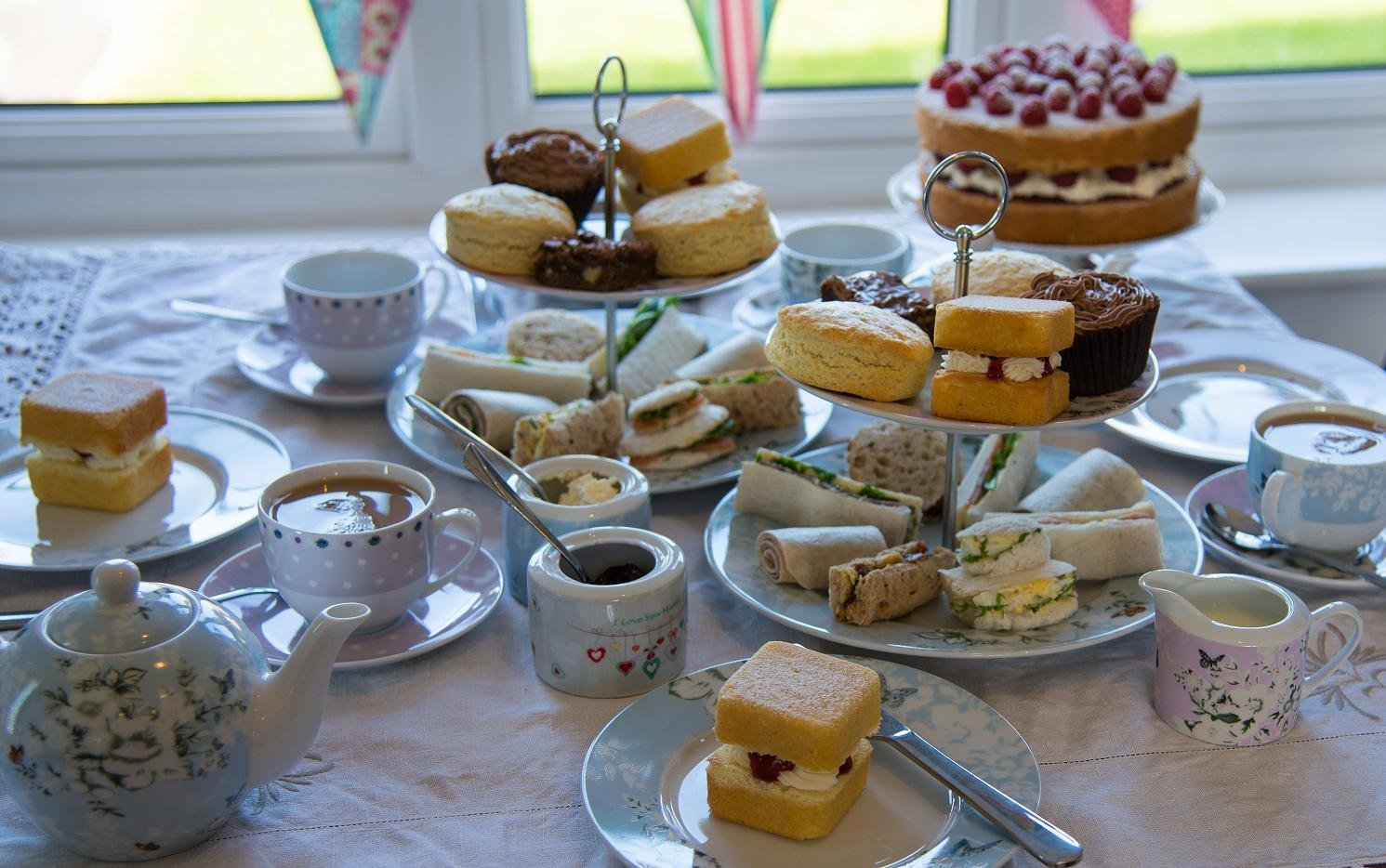 Afternoon Tea Party Delivered To You
