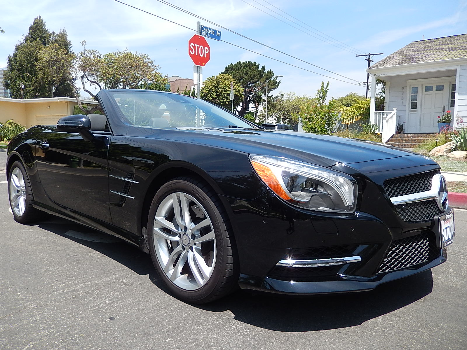 2014 mercedes benz sl550 roadster rental in los angeles for Mercedes benz sl550