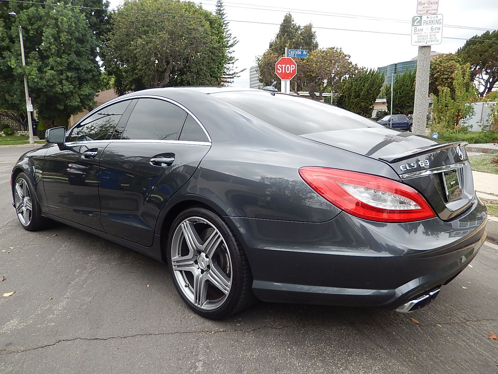 All new mercedes benz cls63 amg rental in los angeles for Los angeles mercedes benz