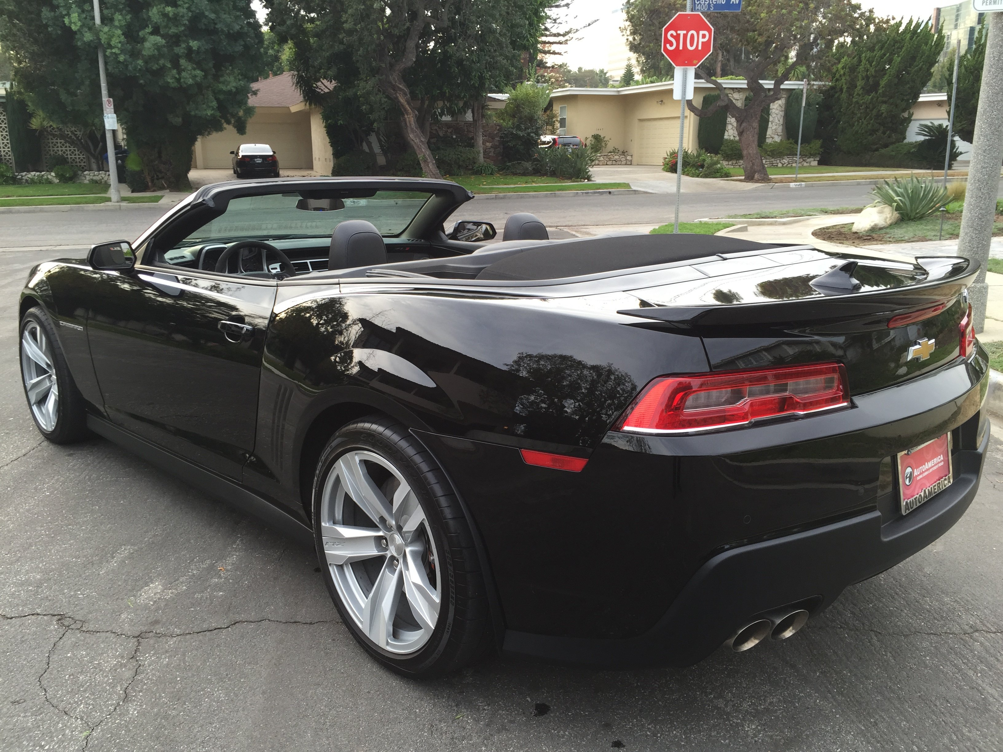 All New 2014 Chevy Camaro Zl1 Convertible For Rental In