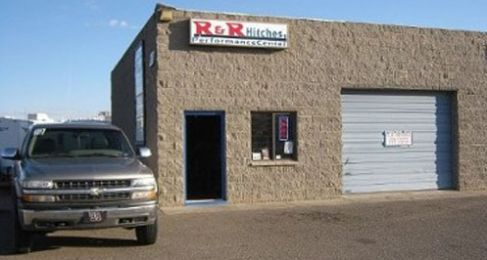 R & R Hitches store front in Kingman, AZ