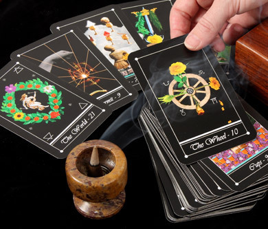 Tarot cards for psychic readings and guidance