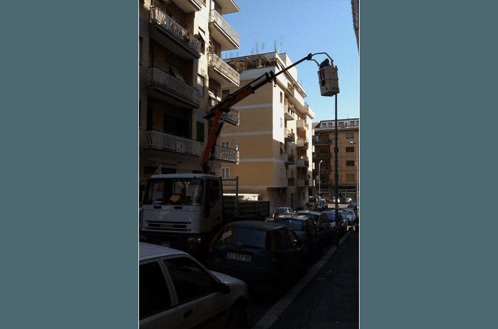 trasporto di macchinari pesanti