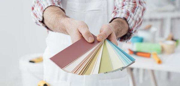 assortimento colori per muri