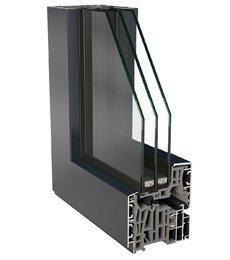 particolare finestra in alluminio