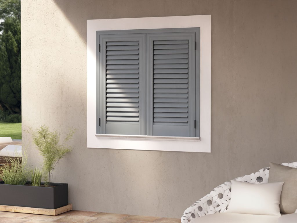 finestra zincata