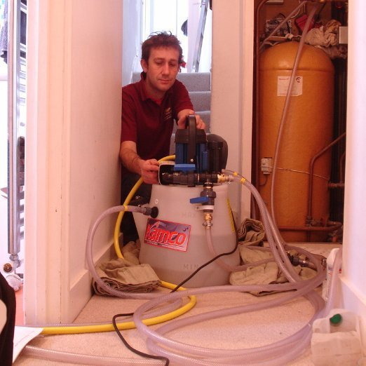 Power flushing Andrew Riley heating plumbing & gas Bournville, Harborne, Edgbaston, Moseley & Kings Heath