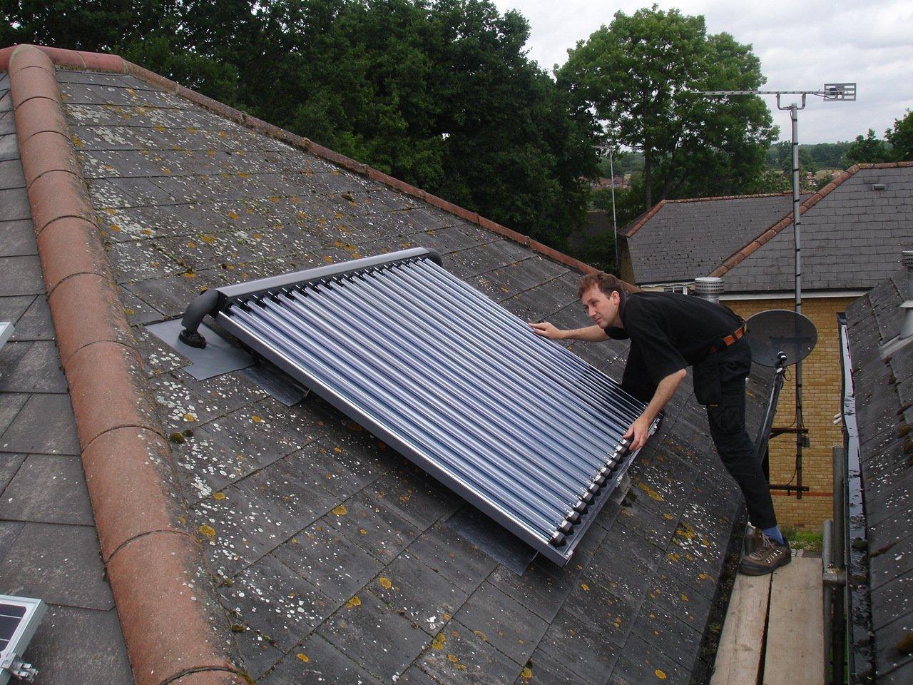 Solar hot water heating Bournville, Harborne, Edgbaston, Moseley & Kings Heath