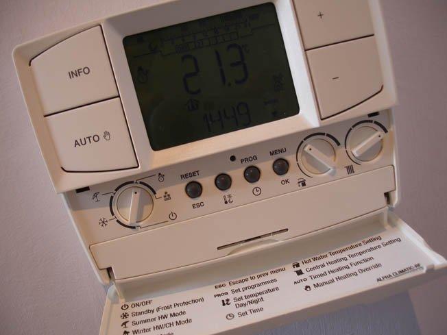 Wireless programmer & thermostat