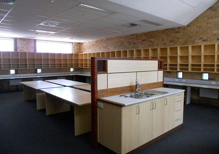 classroom fitout