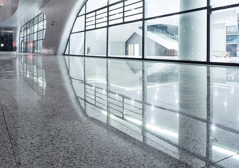 high sheen floor