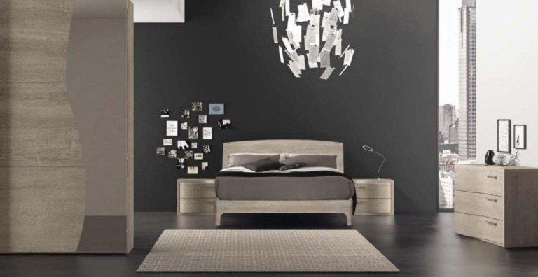 camera da letto progetto Modula
