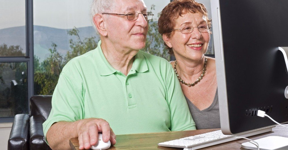 Seniors using technology to stay connected to loved ones