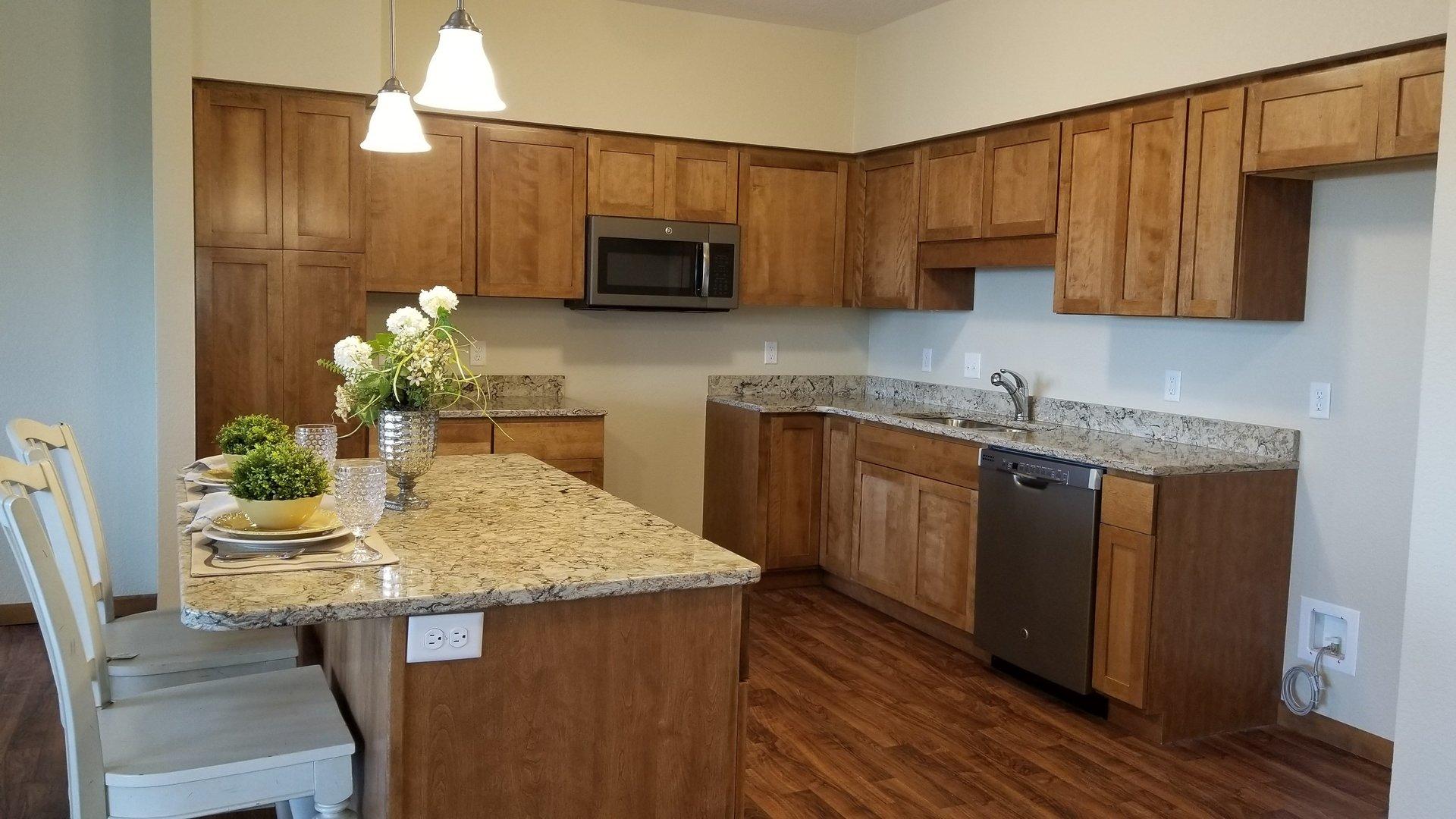 Kitchen at Prairie Wind