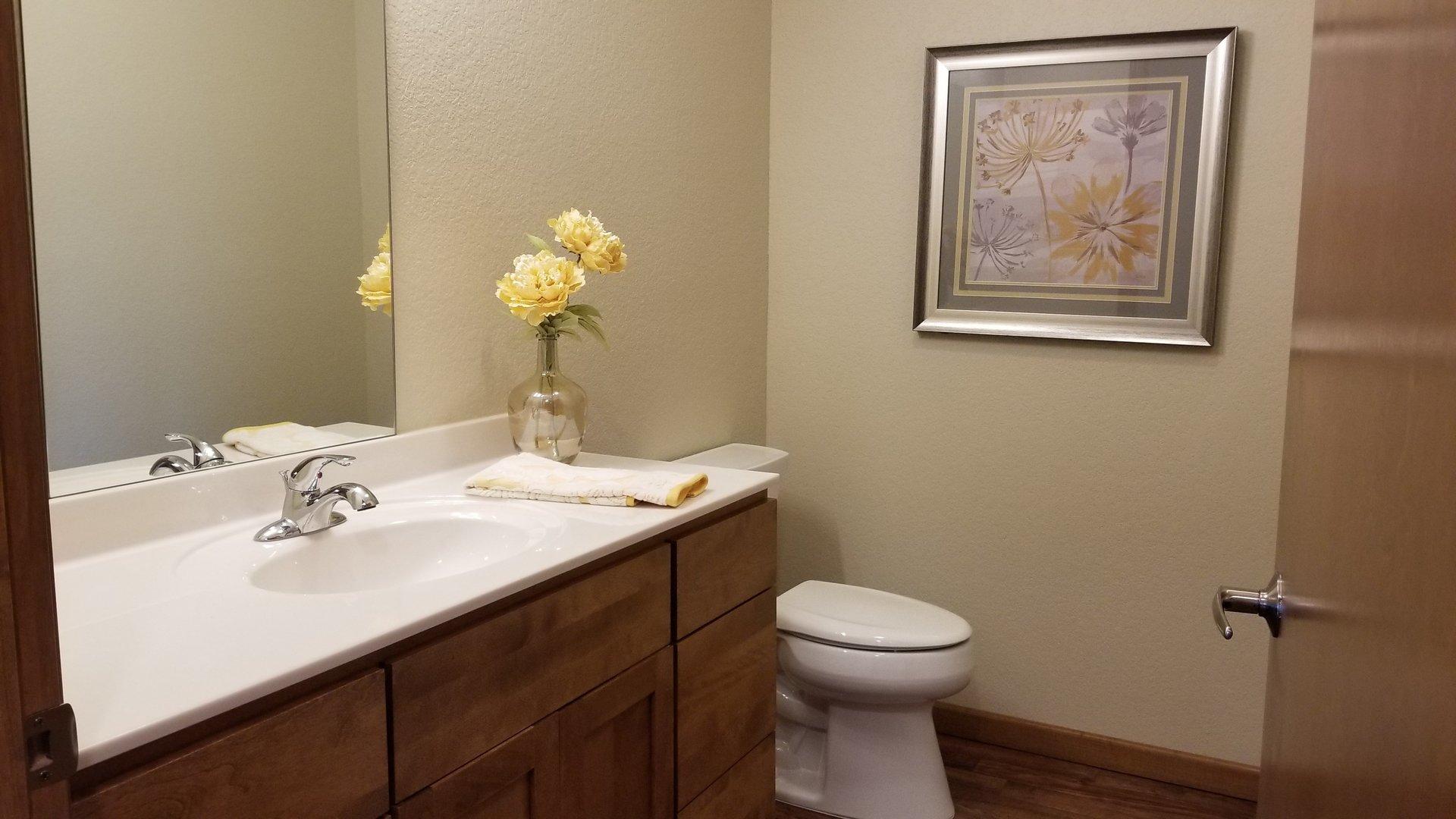 Bathroom at Prairie Wind