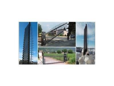 Installazione cancelli alzata verticale - Bongiovanni Sergio Automazione e Sicurezza