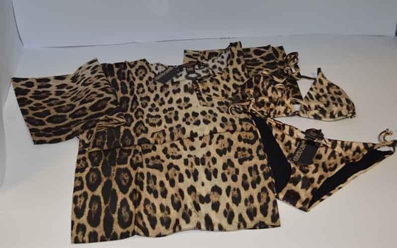 robes and roberto cavalli costumes