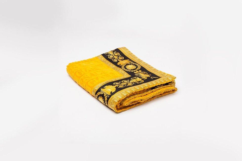 asciugamani versace