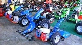 esposizione motozappatrici