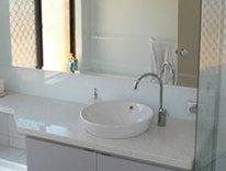granant glass spashbacks bathroom mirrors