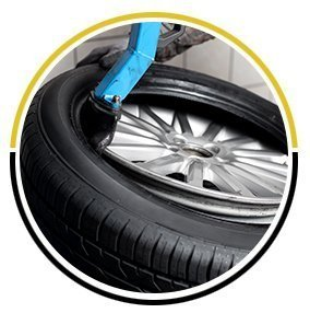 Tyre fitting equipment