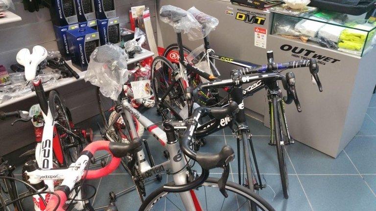 vendita e assistenza biciclette da corsa