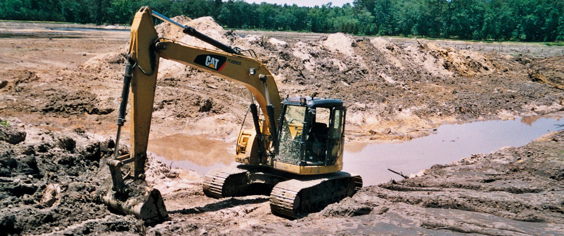 Pond Repairs Augusta, GA