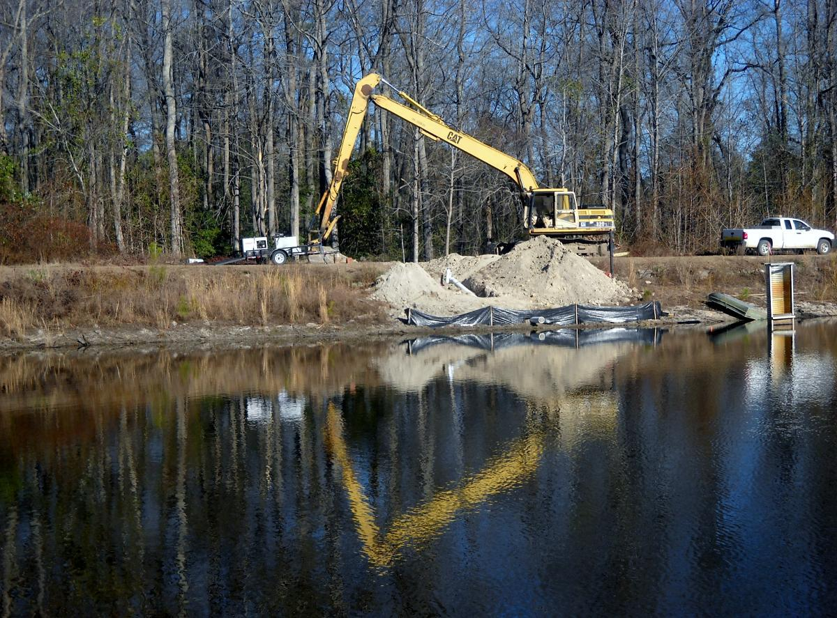 Pond Construction Augusta, GA