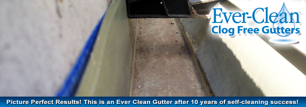 Ever Clean Clog Free Gutters Maintenance Free Gutters