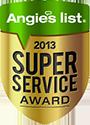 2013 Super Service Award icon