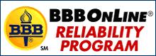 BBB Online Reliability Program icon
