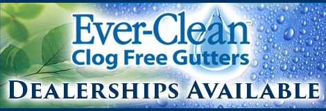 icon: Ever-Clean Clog Free Gutters Dealerships Available