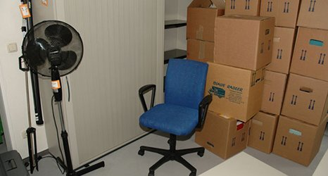 Chair and fan