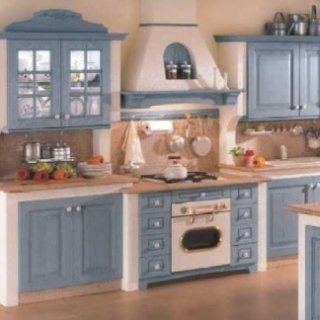 cucina classica color avion