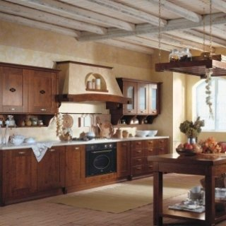 cucina legno alder