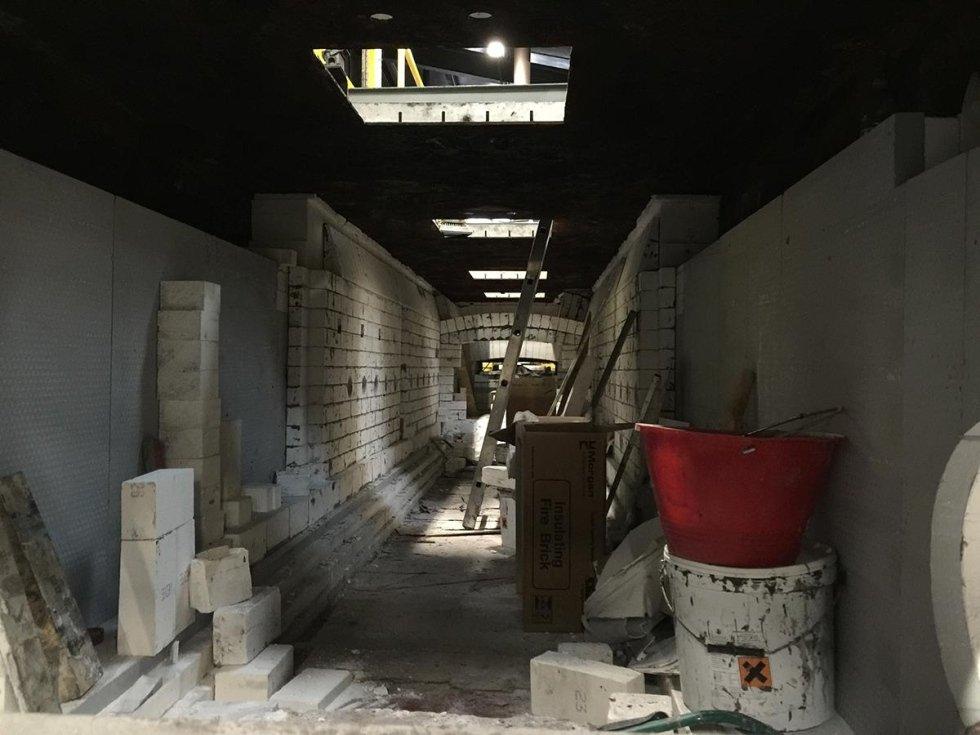 revamping furnace stonework