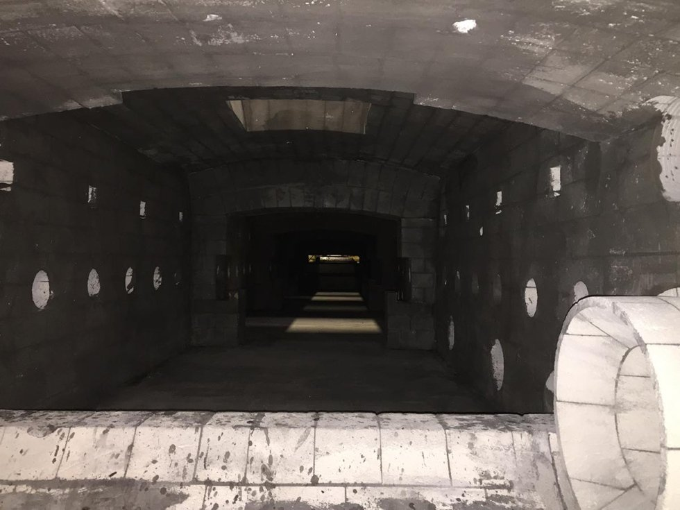 furnace stonework