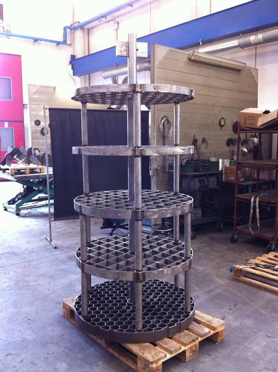 attrezzature per forni a pozzo