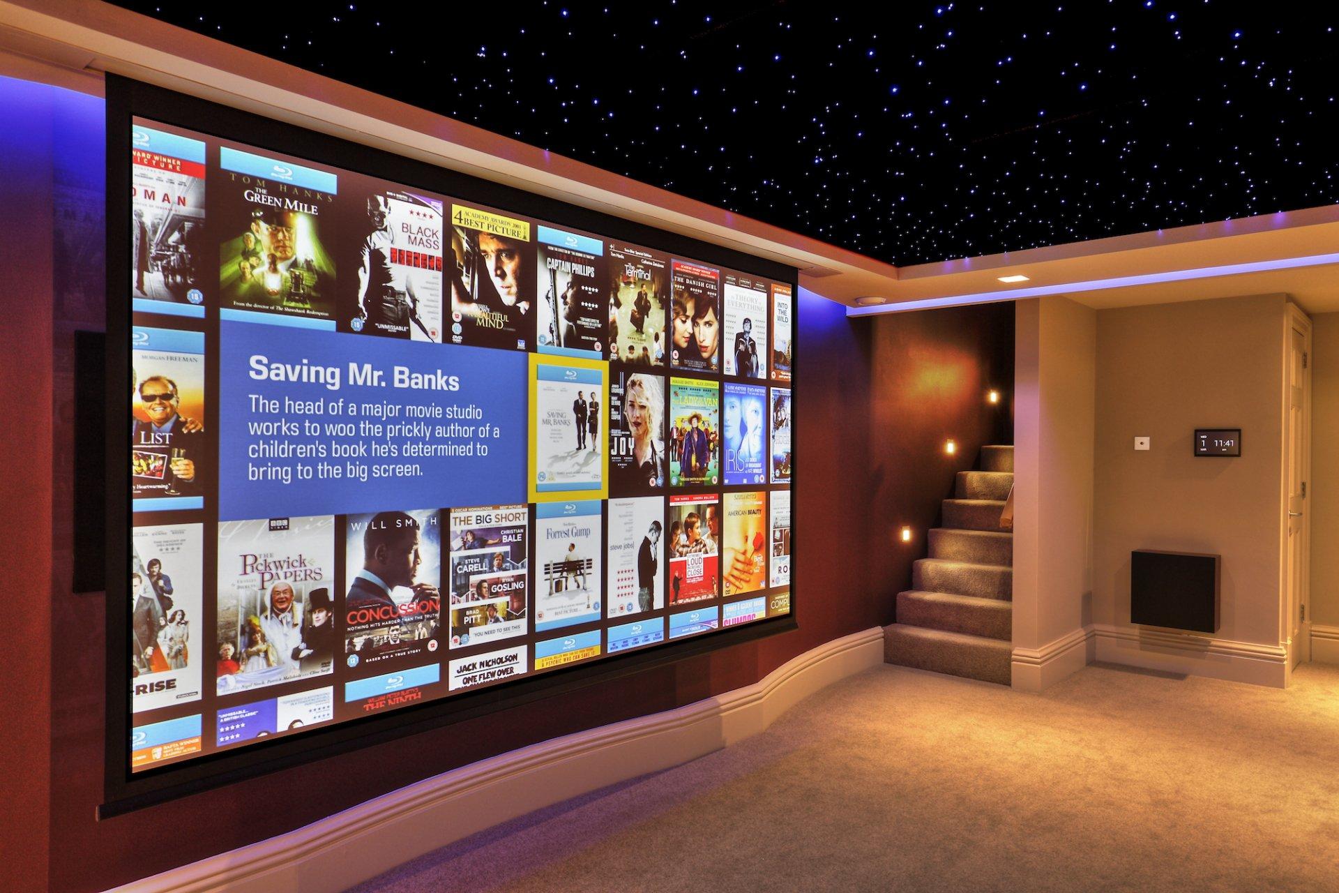 Media Room Installation In Kent