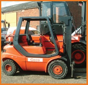 Counterbalance trucks - Portsmouth - Geco Lift Trucks Ltd - Forklift